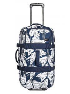 Roxy IN THE CLOUDS MOOD INDIGO FLYING FLOWERS S kufr do letadla – modrá