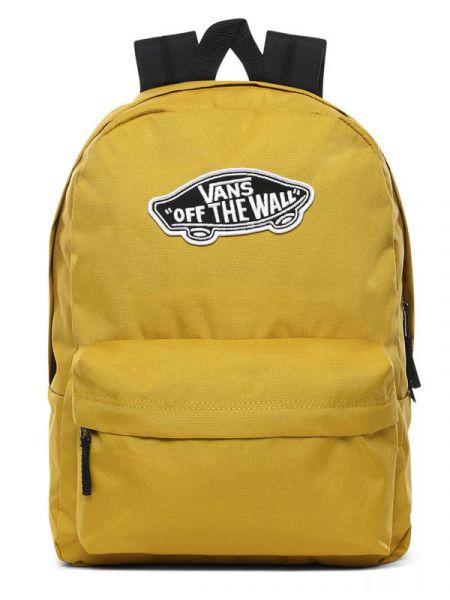 Vans REALM OLIVE OIL batoh do školy – žlutá