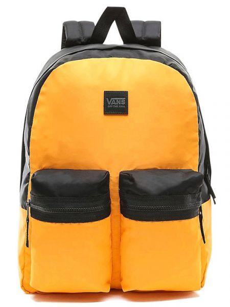 Vans DOUBLE DOWN ZINNIA/BLACK batoh do školy – žlutá
