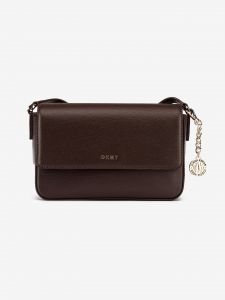 Bryant Medium Cross body bag DKNY Hnědá 983287
