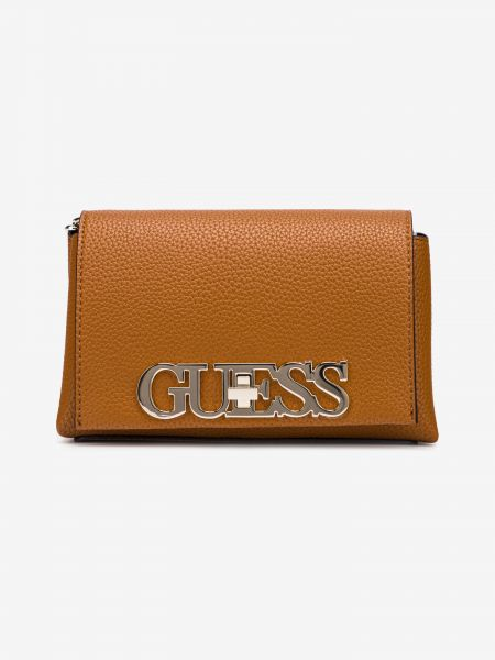Uptown Chic Mini Cross body bag Guess Hnědá 983307