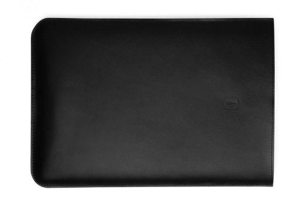Černý obal na MacBook z pravé kůže Sleeve MacBook Pro 13 & Retina BeWooden