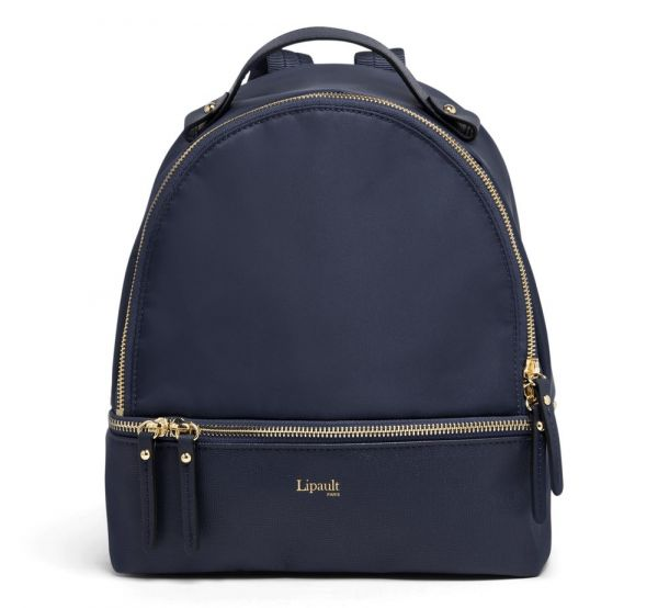 Lipault Dámský batoh Plume Avenue Nano 7,7 l – tmavě modrá