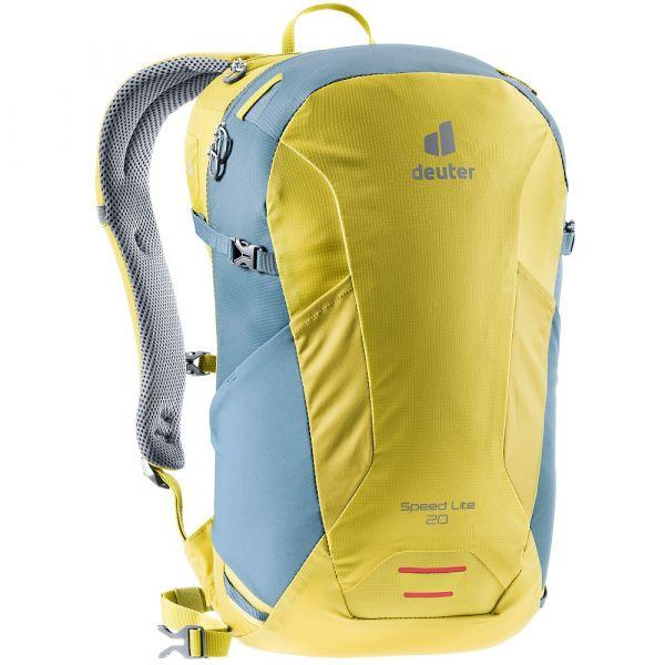 Turistický batoh Deuter Speed Lite 20 greencurry-slateblue