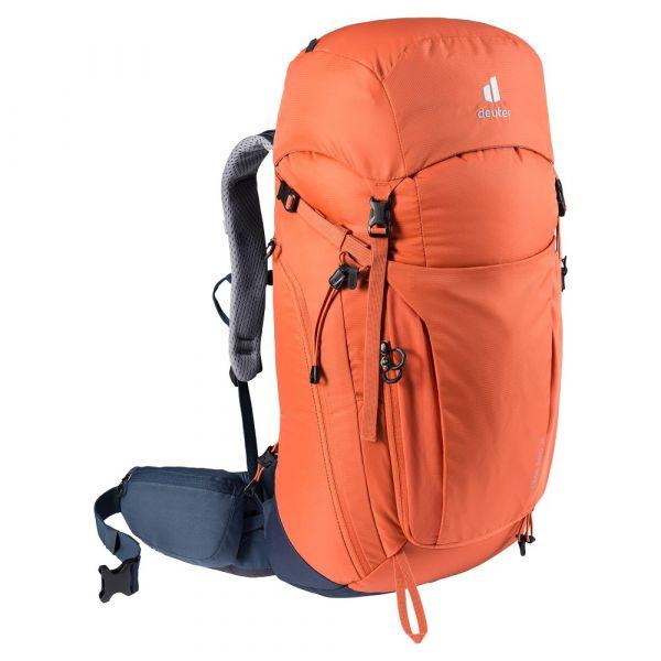 Turistický batoh Deuter Trail Pro 36 paprika-marine
