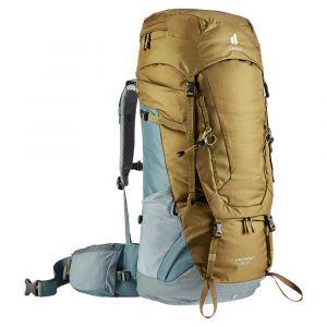 Expediční batoh Deuter Aircontact 55 + 10 clay-teal