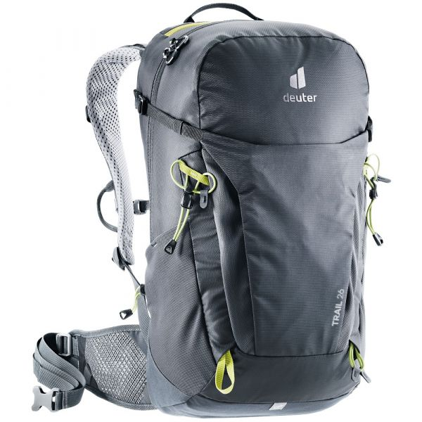 Turistický batoh Deuter Trail 26 Black / Graphite
