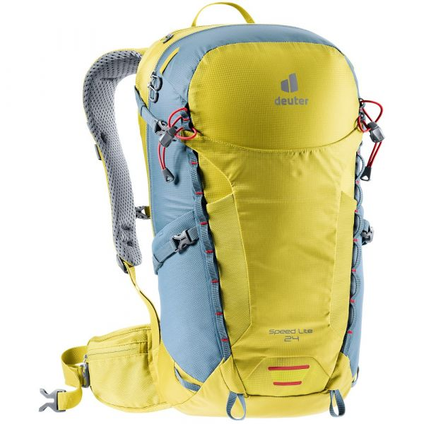 Turistický batoh Deuter Speed Lite 24 greencurry-slateblue