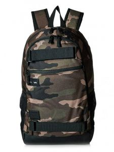 RVCA CURB CAMO batoh do školy – hnědá