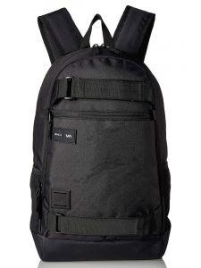 RVCA CURB black batoh do školy – černá