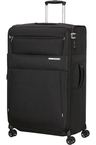 Samsonite Látkový cestovní kufr Duopack EXP 1 Frame 113/123 l – černá