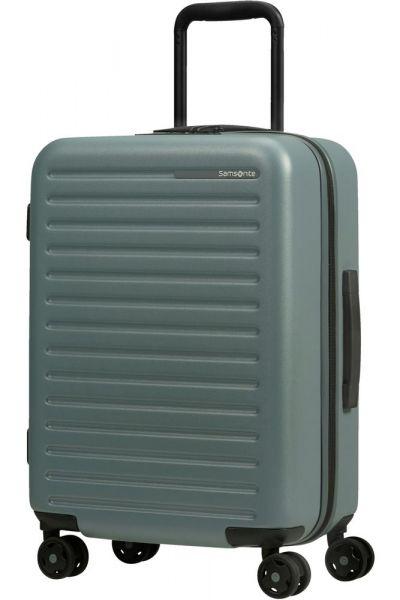 Samsonite Kabinový cestovní kufr StackD EXP 35/42 l – šedozelená