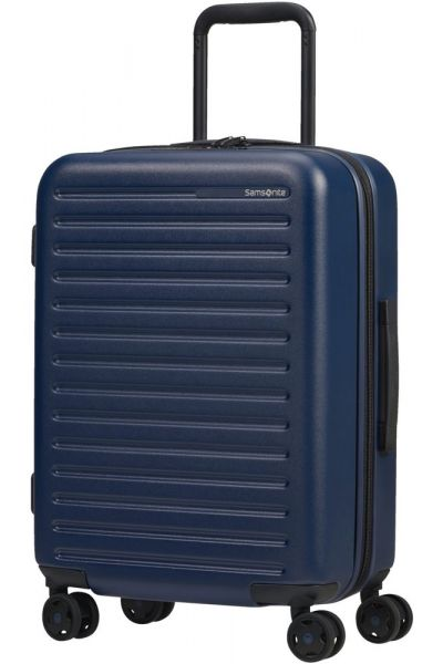 Samsonite Kabinový cestovní kufr StackD EXP 35/42 l – tmavě modrá