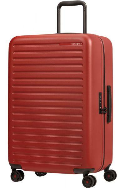 Samsonite Skořepinový cestovní kufr StackD 71 l – červená
