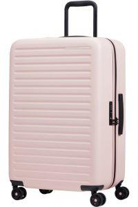 Samsonite Skořepinový cestovní kufr StackD 71 l – růžová