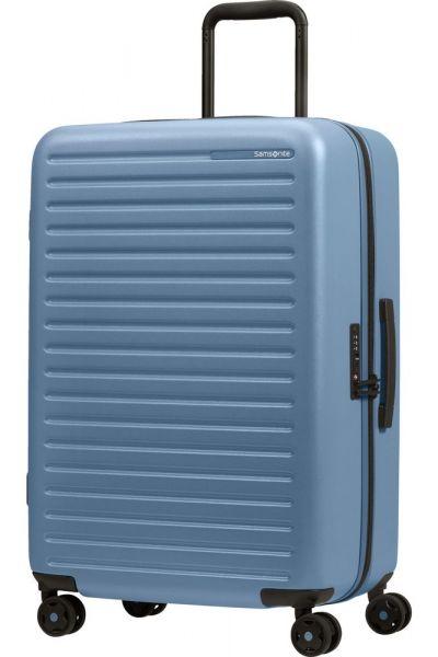 Samsonite Skořepinový cestovní kufr StackD 71 l – světle modrá