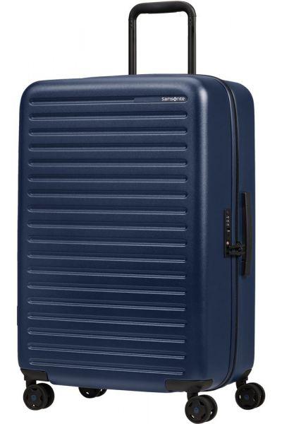 Samsonite Skořepinový cestovní kufr StackD 71 l – tmavě modrá