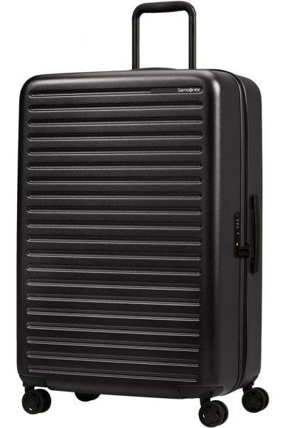 Samsonite Skořepinový cestovní kufr StackD 96 l – černá