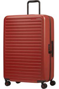 Samsonite Skořepinový cestovní kufr StackD 96 l – červená