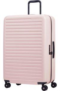 Samsonite Skořepinový cestovní kufr StackD 96 l – růžová