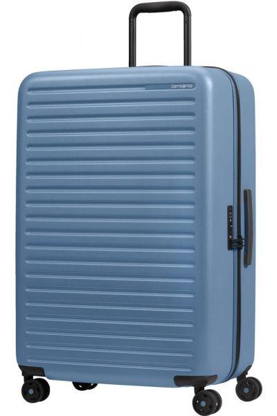 Samsonite Skořepinový cestovní kufr StackD 96 l – světle modrá