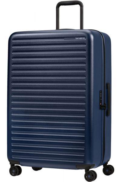 Samsonite Skořepinový cestovní kufr StackD 96 l – tmavě modrá