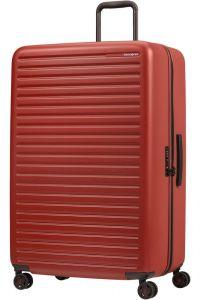 Samsonite Skořepinový cestovní kufr StackD 126 l – červená
