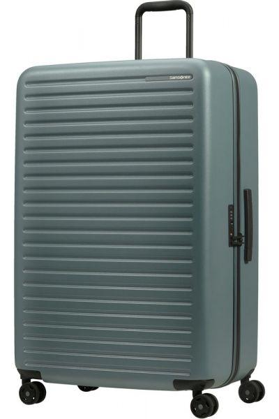 Samsonite Skořepinový cestovní kufr StackD 126 l – šedozelená