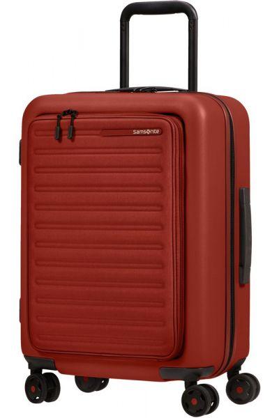 Samsonite Kabinový cestovní kufr StackD EXP Easy Access 39/46 l – červená