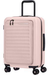 Samsonite Kabinový cestovní kufr StackD EXP Easy Access 39/46 l – růžová