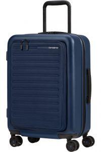 Samsonite Kabinový cestovní kufr StackD EXP Easy Access 39/46 l – tmavě modrá
