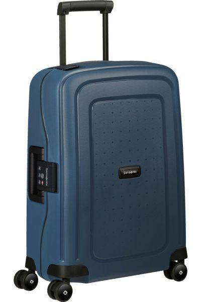 Samsonite Kabinový cestovní kufr S'Cure Eco 34 l – modrá