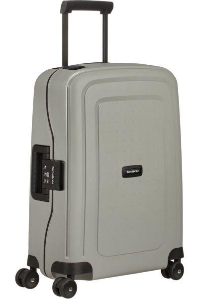 Samsonite Kabinový cestovní kufr S'Cure Eco 34 l – šedá