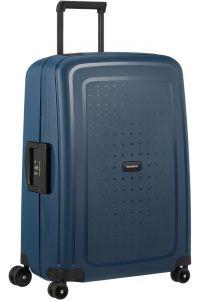 Samsonite Skořepinový cestovní kufr S'Cure Eco 79 l – modrá