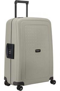 Samsonite Skořepinový cestovní kufr S'Cure Eco 79 l – šedá