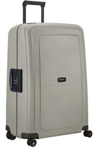 Samsonite Skořepinový cestovní kufr S'Cure Eco 102 l – šedá