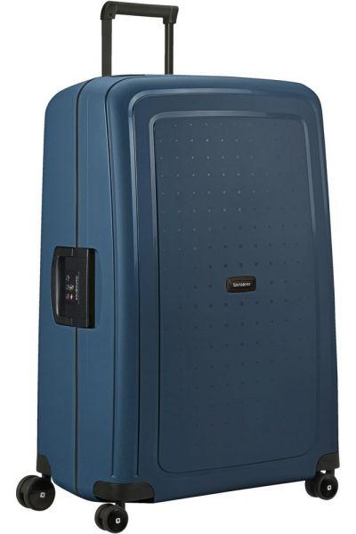 Samsonite Skořepinový cestovní kufr S'Cure Eco 138 l – modrá