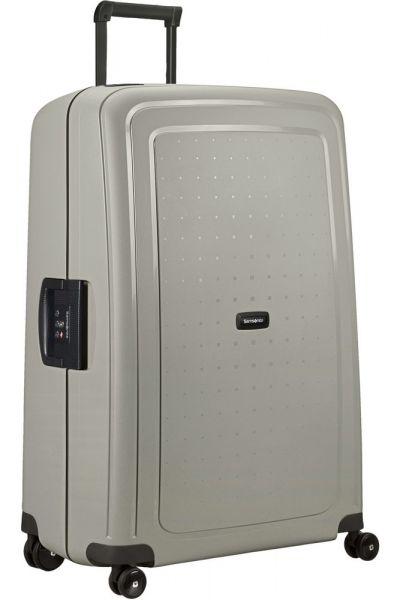 Samsonite Skořepinový cestovní kufr S'Cure Eco 138 l – šedá