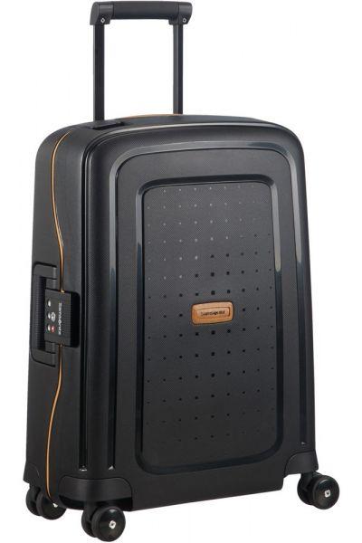 Samsonite Kabinový cestovní kufr S'Cure Eco 34 l – černá