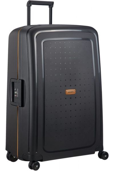 Samsonite Skořepinový cestovní kufr S'Cure Eco 102 l – černá