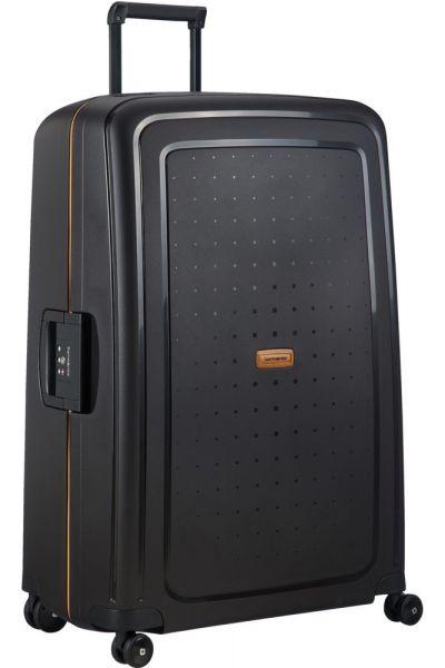 Samsonite Skořepinový cestovní kufr S'Cure Eco 138 l – černá