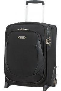 Samsonite Kabinový cestovní kufr pod sedadlo X'Blade 4.0 USB 26 l – černá