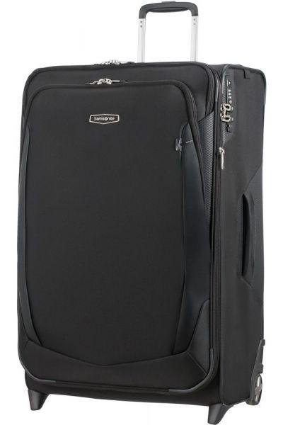 Samsonite Látkový cestovní kufr Upright X'Blade 4.0 EXP 123,5/134 l – černá