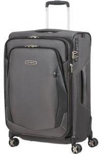 Samsonite Látkový cestovní kufr X'Blade 4.0 EXP 66/72 l – šedá