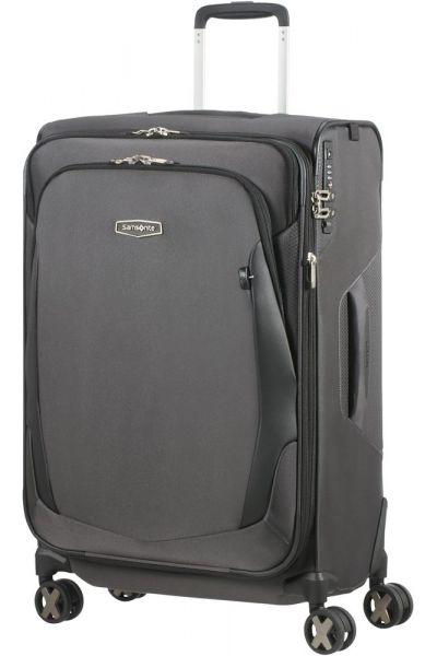 Samsonite Látkový cestovní kufr X'Blade 4.0 EXP 88/95 l – šedá