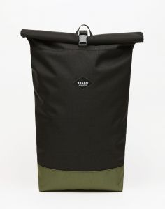 Braasi Industry Rolltop Basic Black/Green 16 l