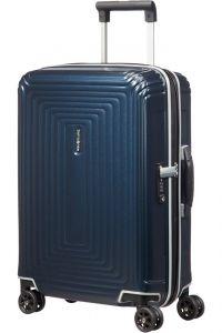 Samsonite Kabinový cestovní kufr Neopulse DLX 38 l – temně modrá matná