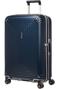 Samsonite Skořepinový cestovní kufr Neopulse DLX 74 l – Temně modrá matná