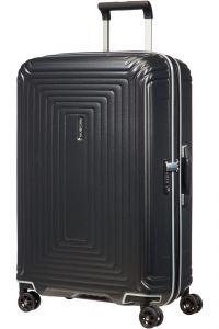 Samsonite Skořepinový cestovní kufr Neopulse DLX 74 l – titan matná