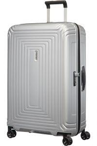 Samsonite Skořepinový cestovní kufr Neopulse DLX 94 l – matná stříbrná